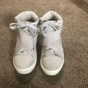 Justfab grey Amelie sneaker